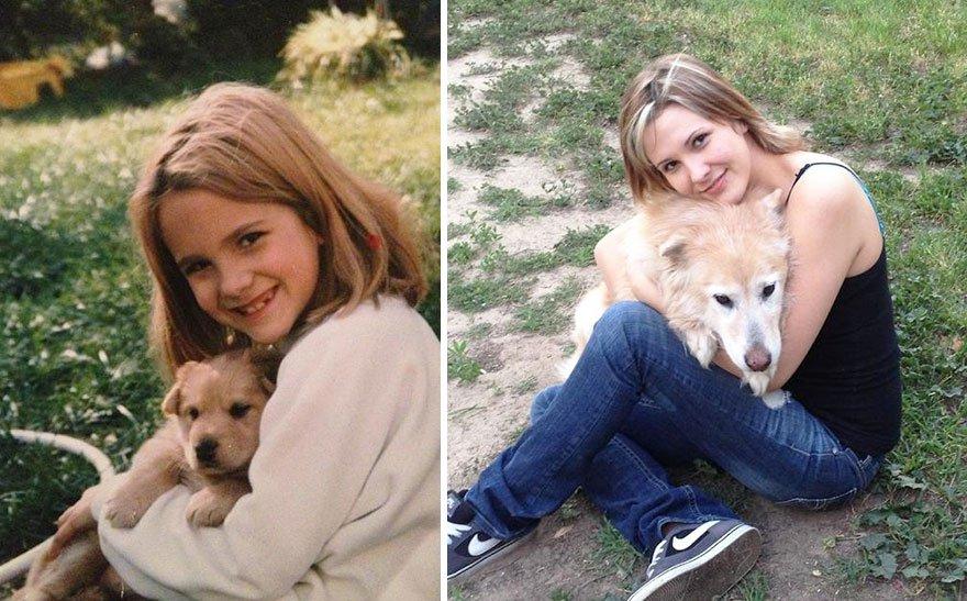 Így cseperednek fel kedcenceink. 23 zabálnivaló kutyus régen és most.