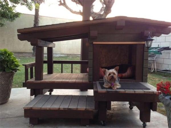 14 gazdi, aki elképesztő kutyaházat épített kedvencének13