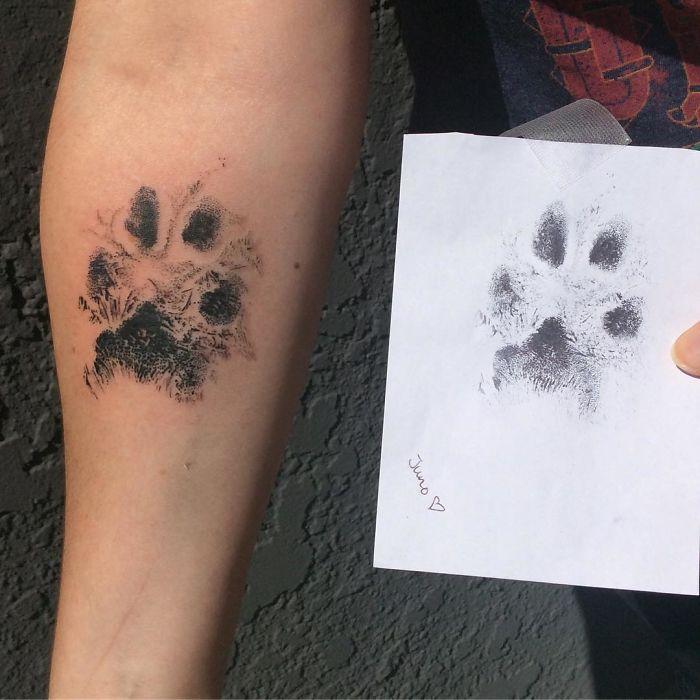 21 gazdi, aki a kutyája tappancsát tetováltatta magára12