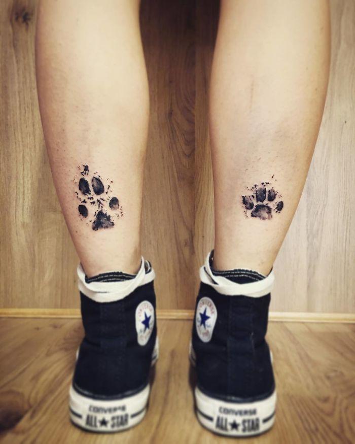 21 gazdi, aki a kutyája tappancsát tetováltatta magára4