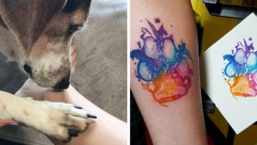 kutya tetoválás