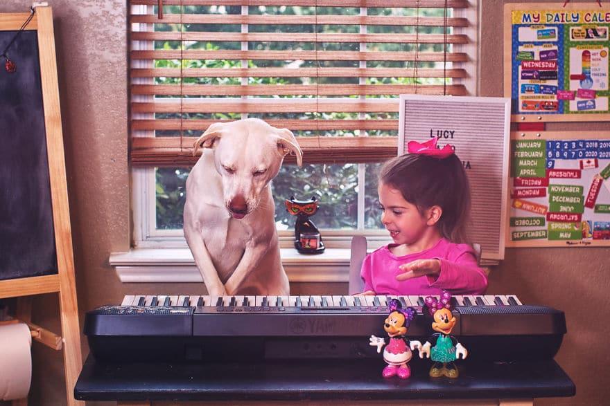 Az édesanya örökbe fogadott egy menhelyi kutyát5