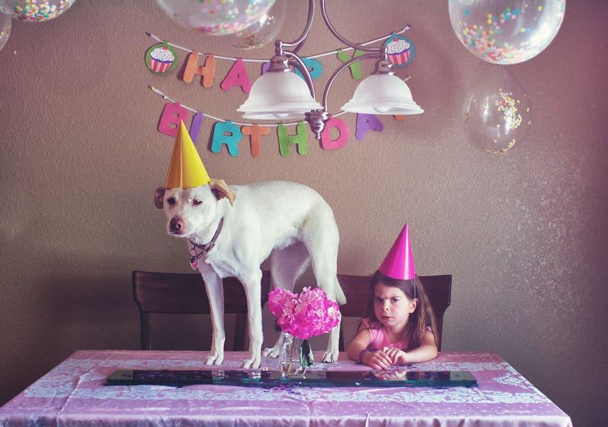 Az édesanya örökbe fogadott egy menhelyi kutyát9