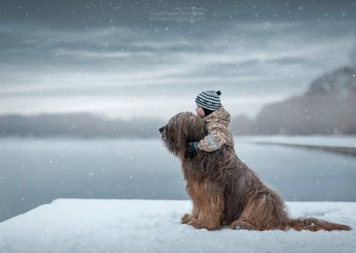 gyerekek és kutyák közt felbonthatatlan kötődés van