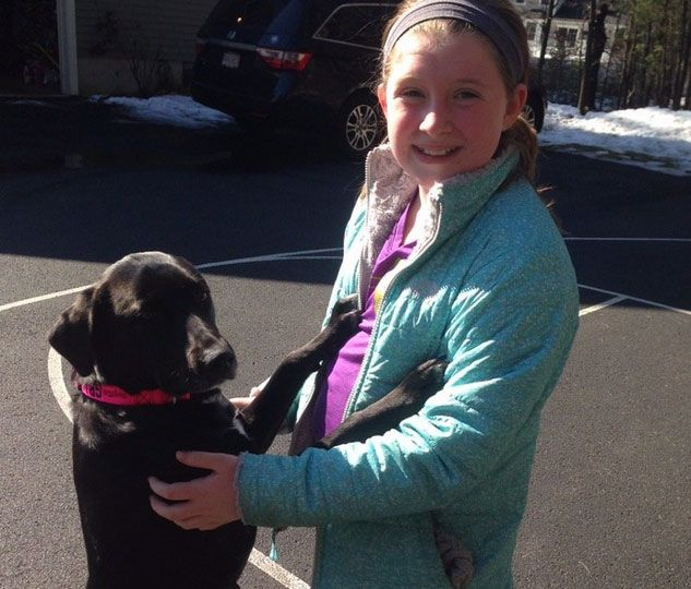 száz kutyát mentett meg a kislány