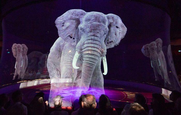 Egy német cirkusz kizárólag hologrammokat használ állatok helyett