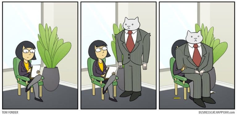 ilyen lenne macska főnökként