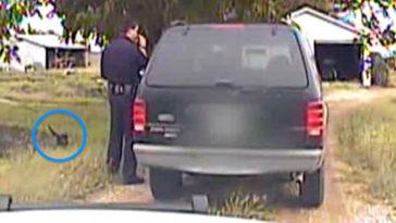 A rendőr épp büntetést szab ki